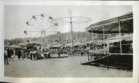 Carnival, Muster Field, Hallowell, ca. 1935