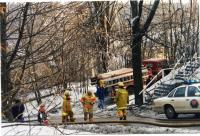Ice Storm, Emergency workers, Hallowell, 1998