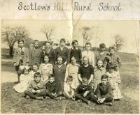 Scottow's Hill Rural School, Scarborough, ca. 1920