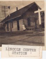 Lincoln Center Railroad Station, ca. 1925