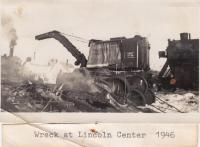Train Collision in Lincoln Center, 1946