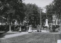 Waiting for the parade, Saco, 1912