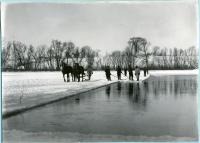 Ice cutters on the Saco River, 1912