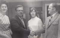 First hospital administrator at Penobscot Valley Hospital, 1972