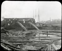 Lumber Mill on the Penobscot, Bangor, ca. 1895
