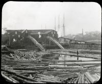 Lumber Mill on the Penobscot, Bangor, ca. 1895