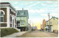 Bank Square, Lubec, ca. 1910