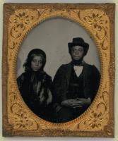 John and Sarah Williams Young, Hallowell, ca. 1864