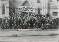 York County Boys' Conference, Saco, ca. 1910