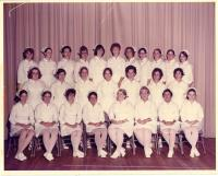 Maine School of Practical Nursing graduating class, Waterville, 1975