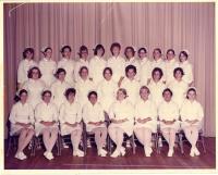 Maine School of Practical Nursing graduating class, Waterville, 1975