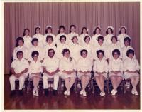 Maine School of Practical Nursing graduating class, Waterville, 1972