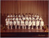 Maine School of Practical Nursing graduating class, Waterville, 1979