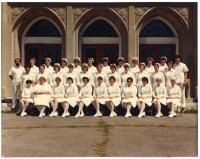 Maine School of Practical Nursing graduating class, Waterville, 1982