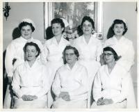 Maine School of Practical Nursing graduating class, Waterville, 1958