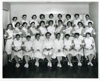 Maine School of Practical Nursing graduating class, Waterville, 1961
