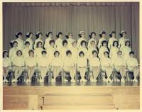 Maine School of Practical Nursing graduating class, Waterville, 1970
