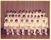 Maine School of Practical Nursing graduating class, Waterville, 1973