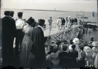 President Taft visits Biddeford Pool, 1910