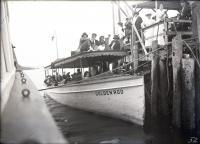 """Launch """"Goldenrod,"""" Biddeford, ca. 1915"""