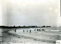 Beach at Fortune's Rocks, Biddeford, ca. 1908