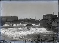 Saco Falls and mill dams, Biddeford-Saco, 1912