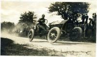 Race car on Thurlow Hill, Poland, June 17, 1911
