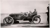 Stanley Steam Racer on Old Orchard Beach, September 1911