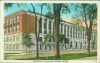 John Bapst High School, Bangor, ca. 1935