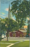 St. Mary's Catholic Church, Bangor, ca. 1930