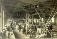 Woodworking shop, Biddeford, ca. 1900