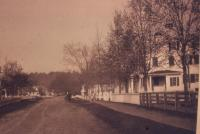 View of Saco Road, Alfred, ca. 1900