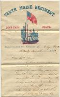 James E. Mitchell letter from Relay House, Maryland, 1861