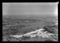 Aerial view of Portland's new airport, ca. 1935
