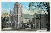 Immanuel Baptist Church, Portland, ca. 1930