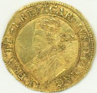Charles I unite coin, 1625