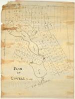 Plan of Lovell, 1871