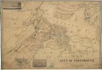 Map of the city of Portsmouth, New Hampshire, 1850
