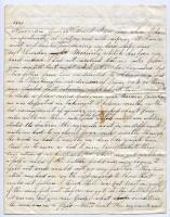 Marshall Phillips letter about Bull Run, 1861