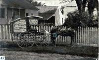 Dr. Conant's personal buggy, Skowhegan, ca. 1885