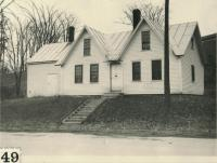 The oldest house in Skowhegan, ca. 1920