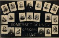 Officers of Somerset County, 1895