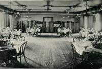 Dining Room of the Heselton House, Skowhegan, ca. 1900
