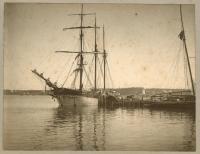 Sailing ship, Lubec, ca. 1885