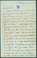 Josiah Pierce to Anne Pierce, Russia, 1865