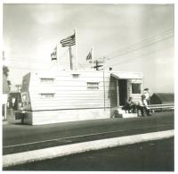 Customs office, Lubec, 1963