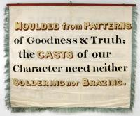 Banner of Machinists, Portland, 1841