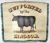 Butchers' banner, Portland, 1841