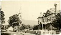 St. Mary's Church and Rectory, Biddeford, ca. 1894