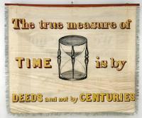 Instrument Makers' banner, Portland, 1841